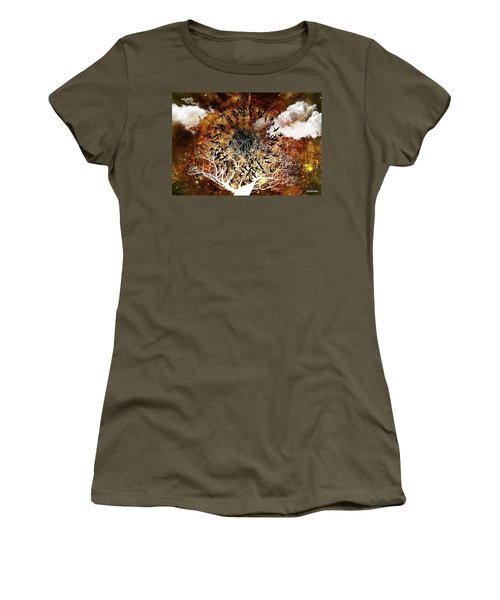 Try Everything Women's T-Shirt (Athletic Fit)