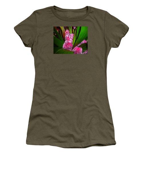 Women's T-Shirt (Junior Cut) featuring the photograph Tucked Away by Merton Allen
