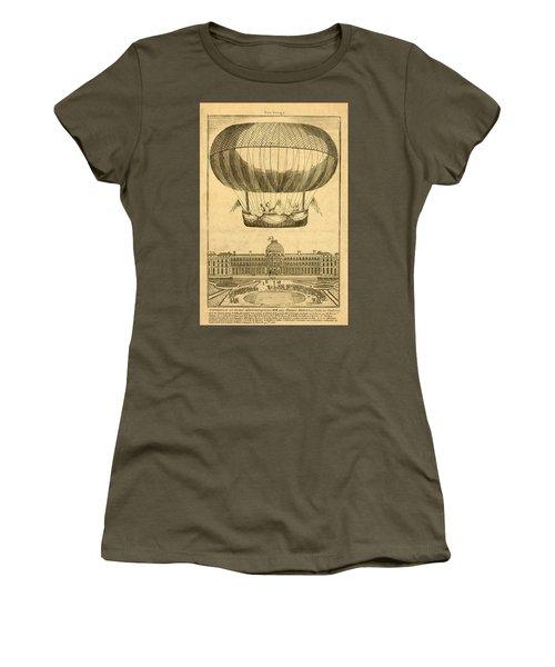 Tuileries Garden, Paris Women's T-Shirt (Athletic Fit)