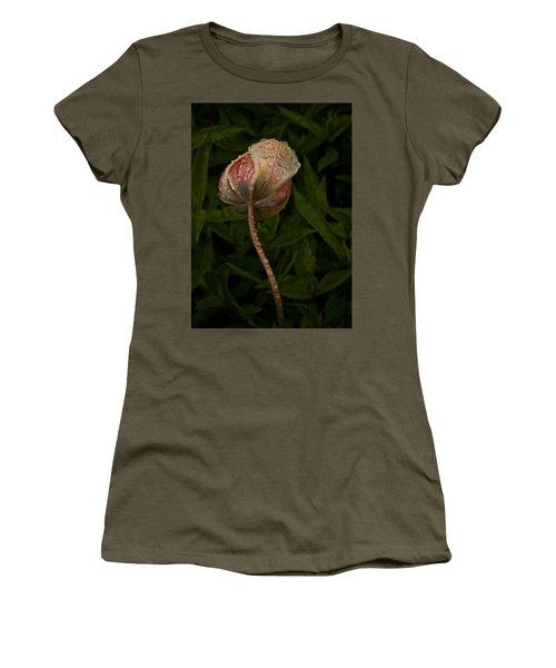 Tulip Tear Drops Women's T-Shirt (Junior Cut) by Richard Cummings