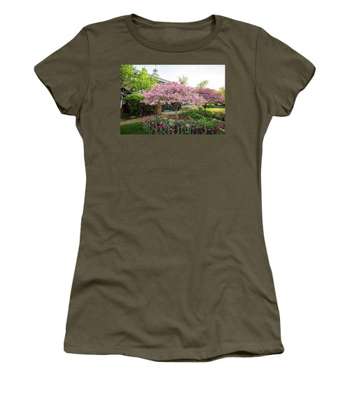 Tulips And Crabapples Women's T-Shirt