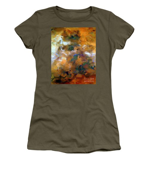 Women's T-Shirt (Athletic Fit) featuring the digital art Tumultuous Expectations by Rafael Salazar