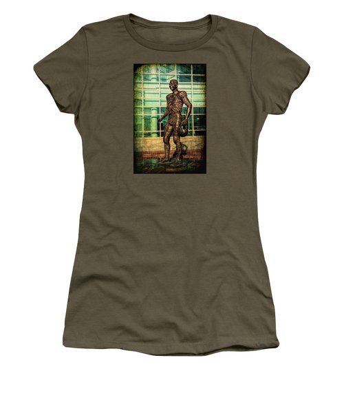 Tundra Titan Women's T-Shirt (Junior Cut) by Trey Foerster