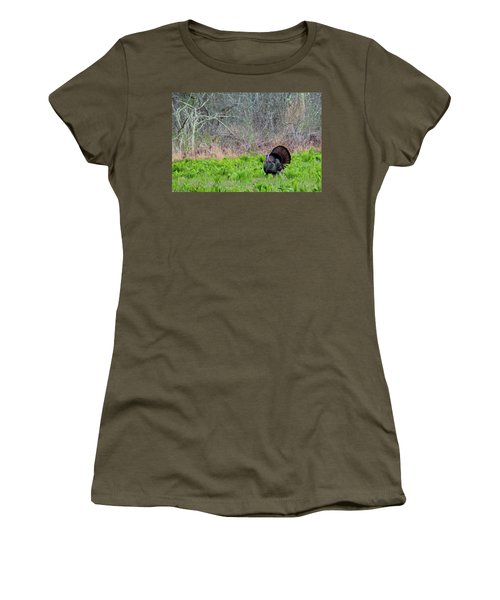 Women's T-Shirt (Junior Cut) featuring the photograph Turkey And Cabbage by Bill Wakeley