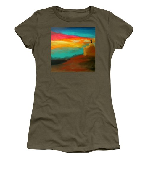 Turquoise Trail Sunset Women's T-Shirt