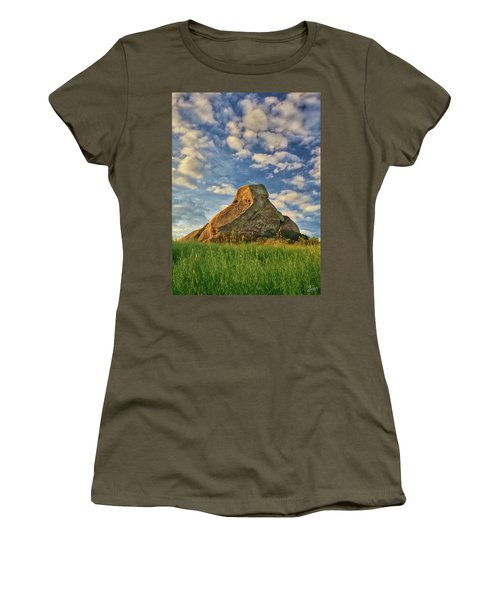Turtle Rock Women's T-Shirt (Junior Cut) by Endre Balogh