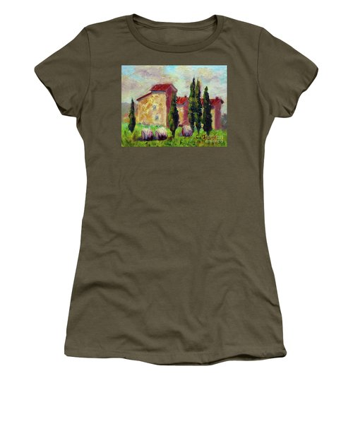 Tuscan House With Hay Women's T-Shirt