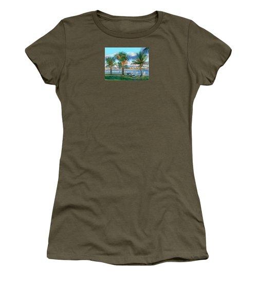 Twilight On Saw Fish Bay Women's T-Shirt