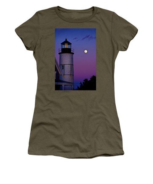 Twilight At Sandy Neck Lighthouse Women's T-Shirt