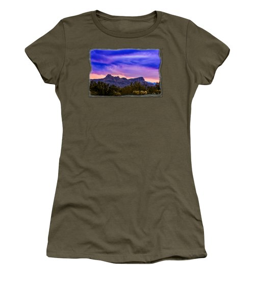 Twin Peaks H30 Women's T-Shirt (Junior Cut) by Mark Myhaver