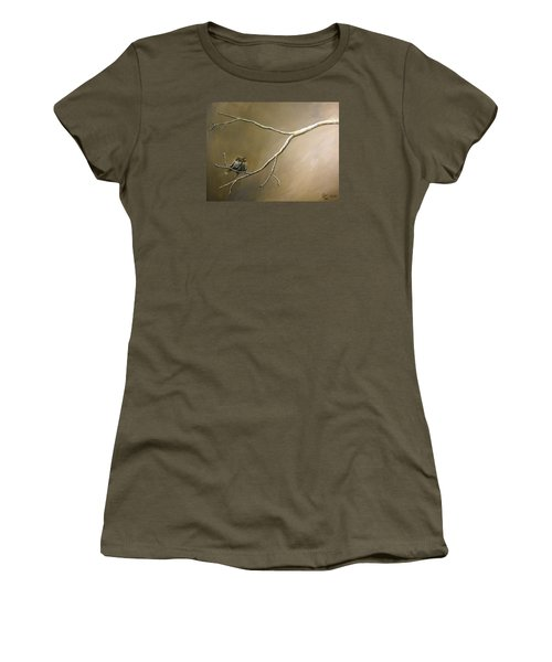 Two Birds On A Branch Women's T-Shirt (Athletic Fit)