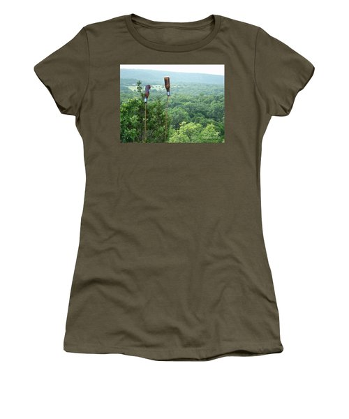 Women's T-Shirt (Junior Cut) featuring the photograph Two For The Road by Joe Jake Pratt