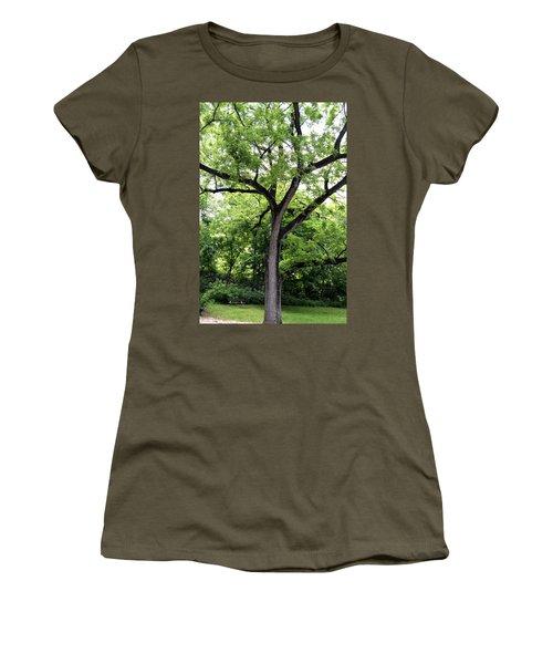 Two Tone Tree Women's T-Shirt