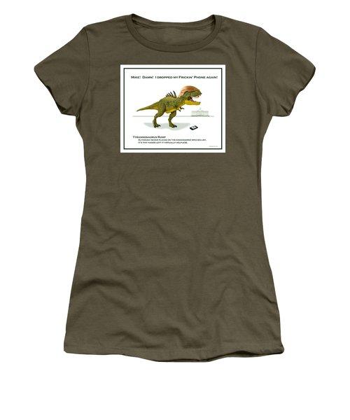 Tyrannosaurus Rump Women's T-Shirt