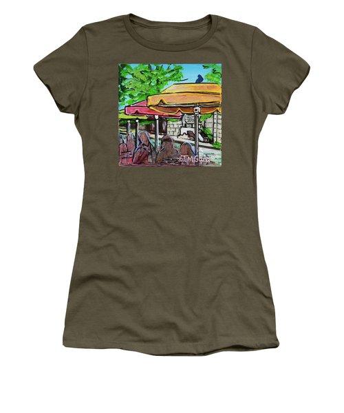 Umbrellas Women's T-Shirt