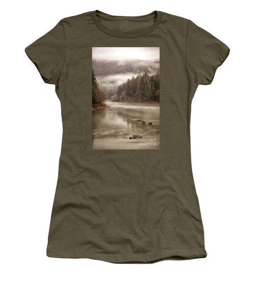 Umpqua River Fog Women's T-Shirt