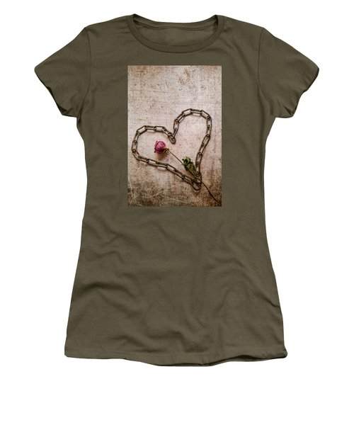 Unchain My Heart Women's T-Shirt (Athletic Fit)