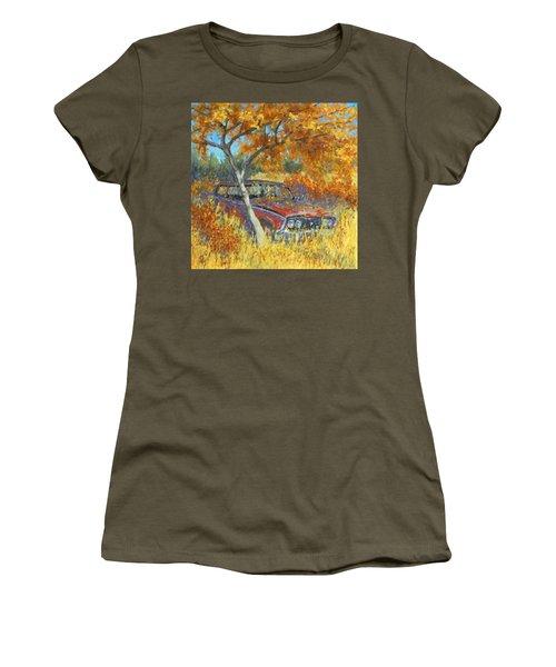 Under The Chinese Elm Tree Women's T-Shirt