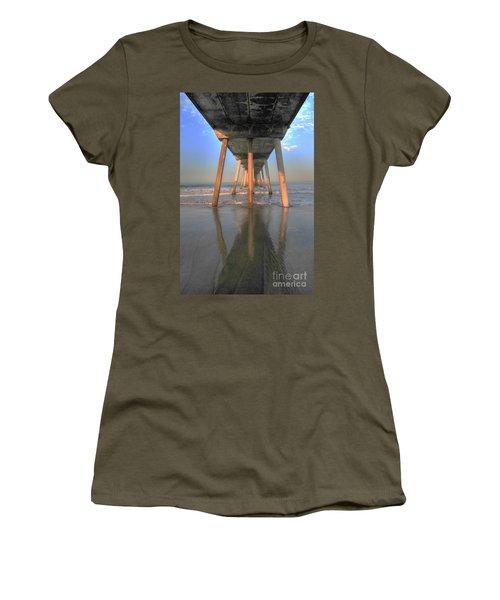 Under The Hermosa Pier Women's T-Shirt