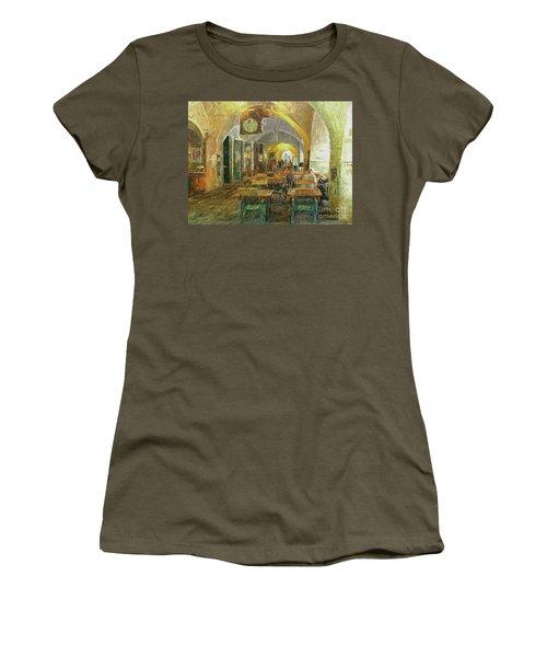 Underneath The Arches - Street Cafe, Prague Women's T-Shirt