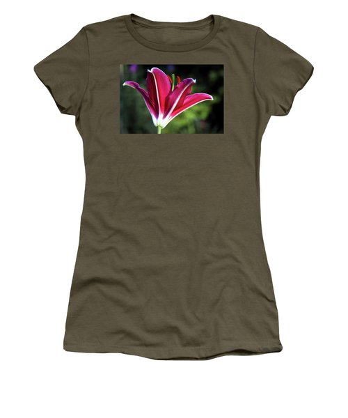Underside Of Asiatic Tiger Lily 1653 H_2 Women's T-Shirt (Athletic Fit)