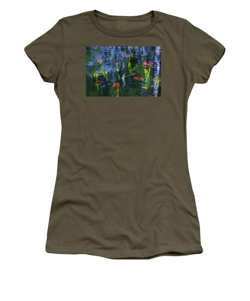 Underwater Lilies Women's T-Shirt