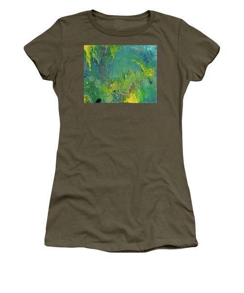 Underwater Paradise Women's T-Shirt (Junior Cut) by Vicki Pelham