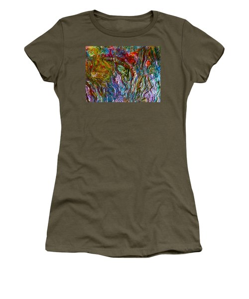 Underwater Seascape Women's T-Shirt (Athletic Fit)