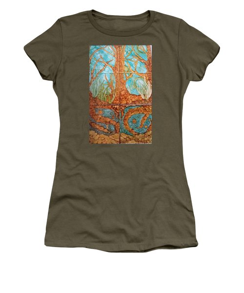 Underwater Trees Women's T-Shirt