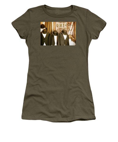 Union Vintage Clothing Women's T-Shirt (Junior Cut) by Steven Bateson