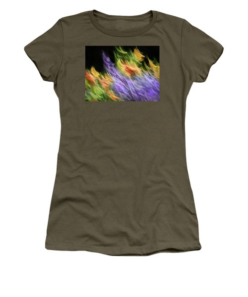 Untitled #8080208, From The Soul Searching Series Women's T-Shirt (Athletic Fit)