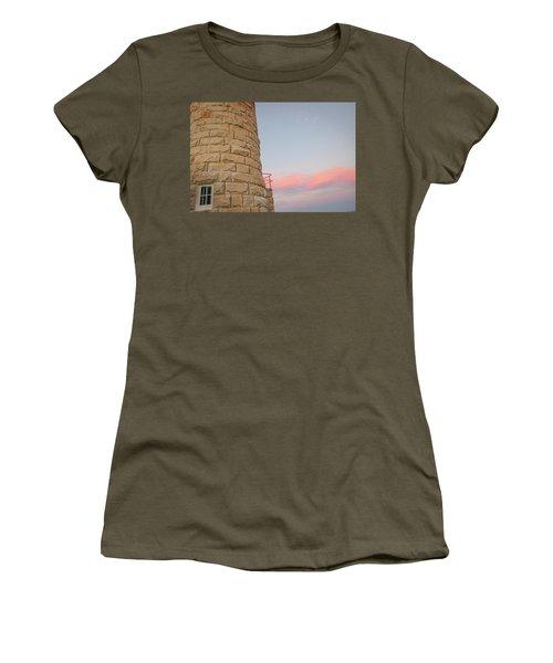 Close-up Detail Of The Cape Moreton Lighthouse Women's T-Shirt