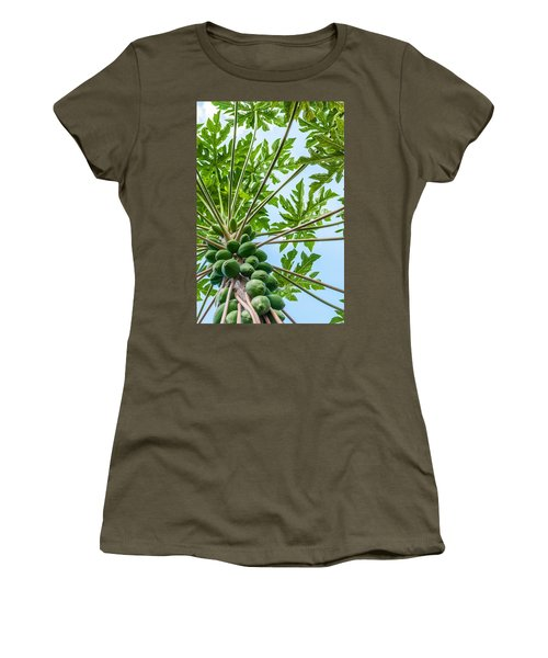 Up The Papaya Women's T-Shirt