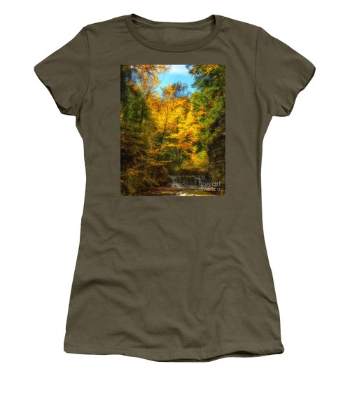 Upper Pinnacle Falls Women's T-Shirt