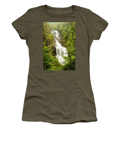 Upper Whitewater Falls Women's T-Shirt