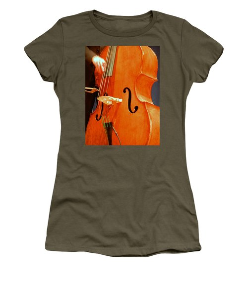 Upright Bass 3 Women's T-Shirt