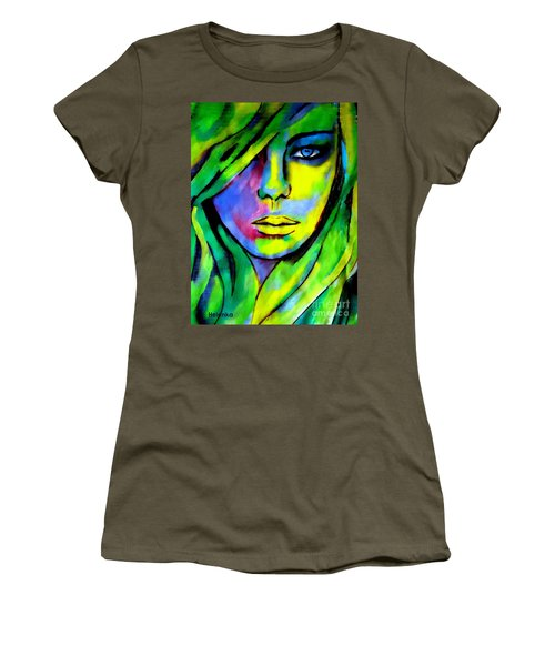 Urban Camouflage Women's T-Shirt (Athletic Fit)