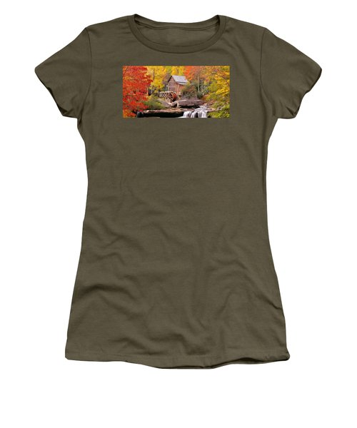 Usa, West Virginia, Glade Creek Grist Women's T-Shirt (Athletic Fit)