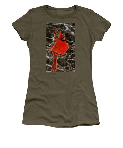Women's T-Shirt (Junior Cut) featuring the photograph Valentines by John Harding