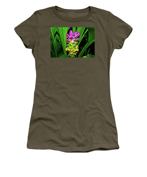 Variegated Hidden Ginger 001 Women's T-Shirt (Athletic Fit)