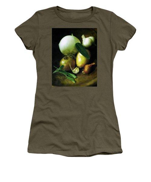 Vegetables For Thanksgiving Stuffing Women's T-Shirt