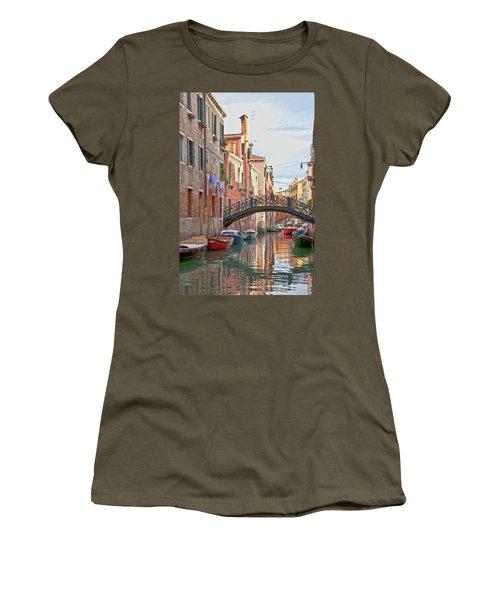 Venice Bridge Crossing 5 Women's T-Shirt