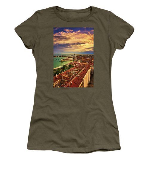 From The Bell Tower In Venice, Italy Women's T-Shirt