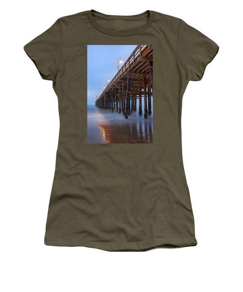 Ventura Ca Pier At Dawn Women's T-Shirt