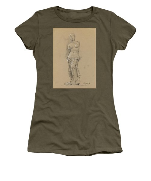 Venus De Milo Women's T-Shirt (Athletic Fit)