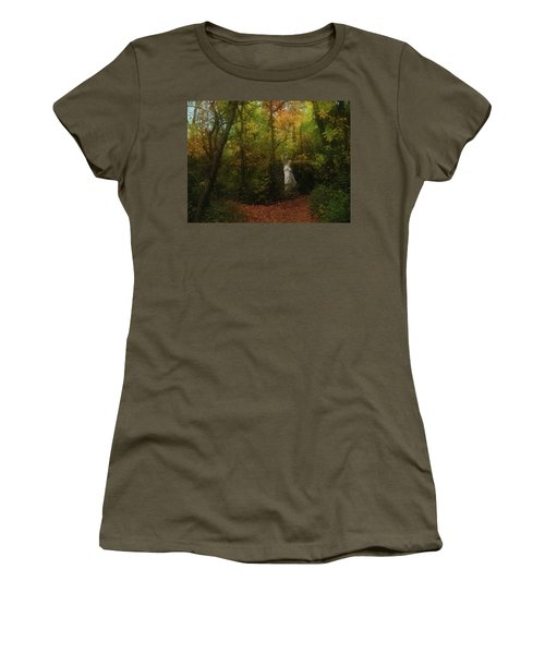 Venus Of The Woodland Women's T-Shirt (Athletic Fit)
