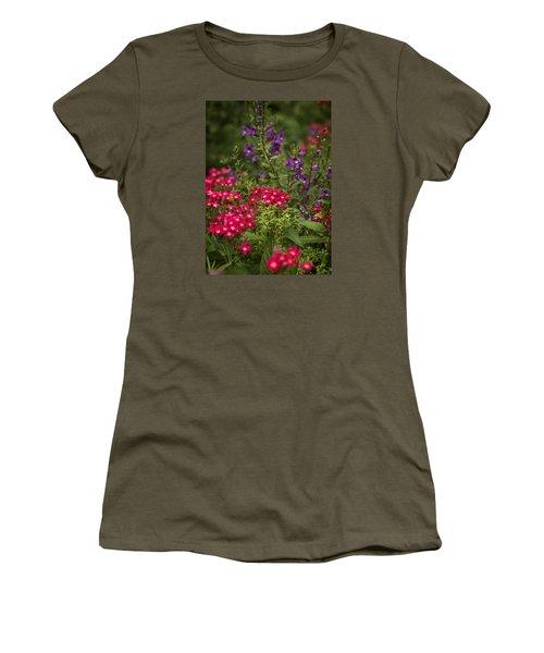 Vibrant Blooms Women's T-Shirt (Junior Cut)