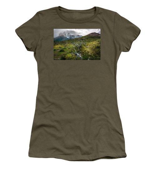 Vibrant Desolation Women's T-Shirt (Athletic Fit)