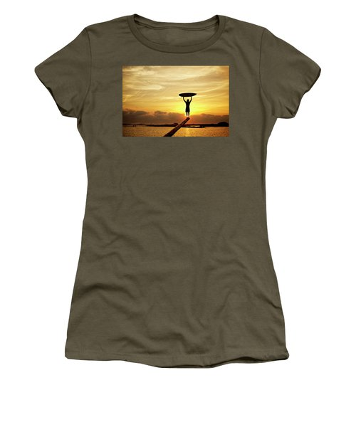 Victory Women's T-Shirt (Athletic Fit)
