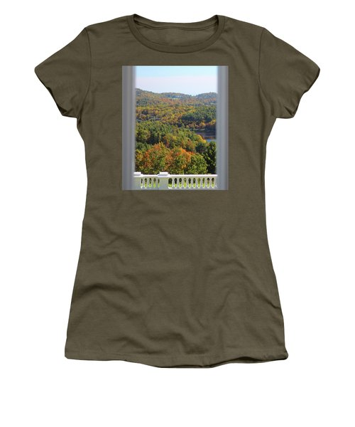 View From Moses Cone 2014b Women's T-Shirt (Athletic Fit)